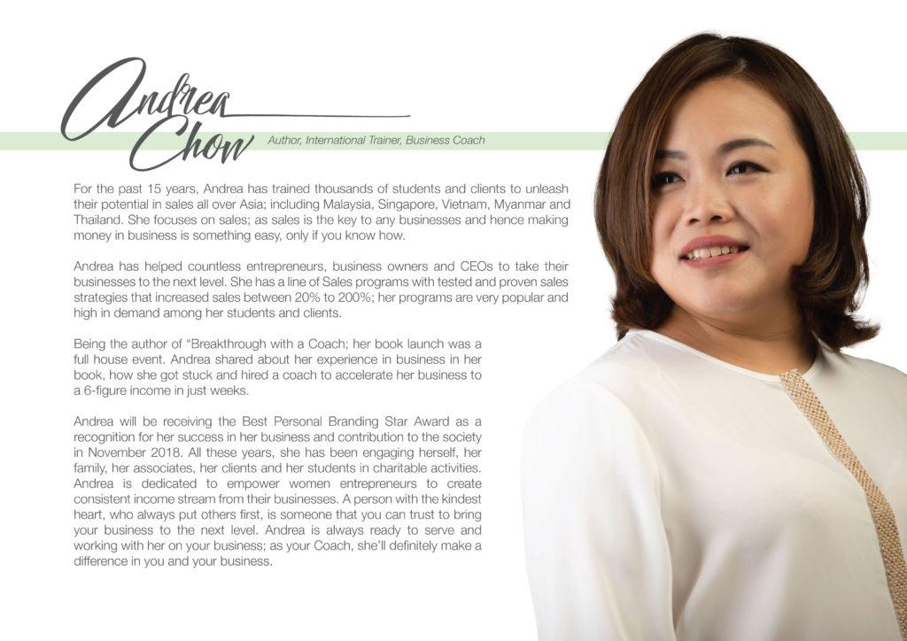 Andrea Chow Profile